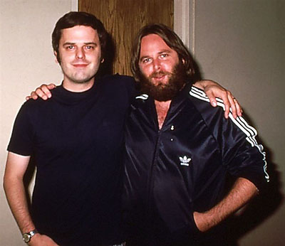 Mike Langstrom and Carl Wilson, Detroit, MI, 1977